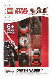 LEGO Darth Vader Link Watch With Minifgure