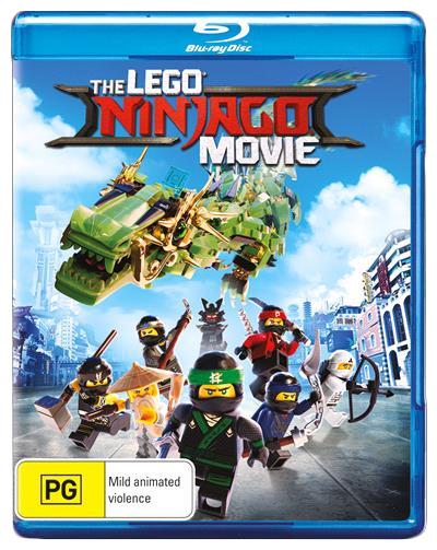 The Lego Ninjago Movie on Blu-ray