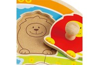 Hape: At the Zoo Knob Puzzle image