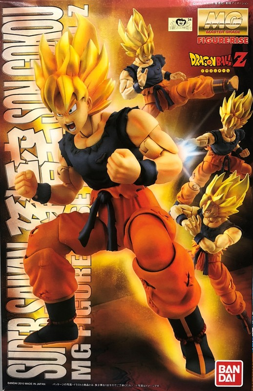 MG 1/8 Dragon Ball Z Figurerise Super Saiyan Goku Model Kit