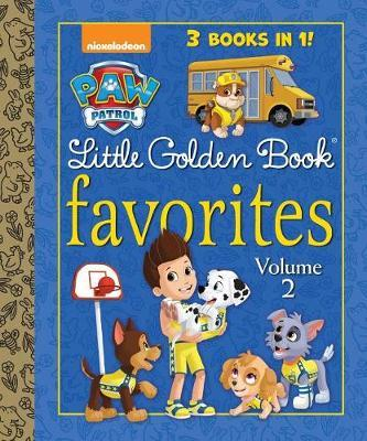 Paw Patrol Little Golden Book Favorites, Volume 2 (Paw Patrol) by Golden Books image