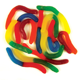 Gloworms Lollies 1kg - Rainbow Confectionery