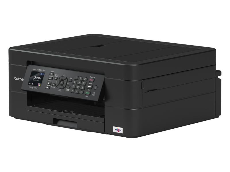 Brother MFCJ491DW Colour Inkjet Multi Function Printer Wifi image