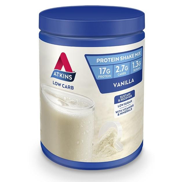 Atkins Low Carb Protein Shake Powder - Vanilla (310g)