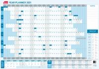 Sasco: 2021 Standard Laminated Year Planner