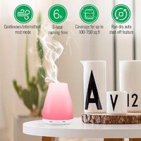 100ml Colorful Ultrasonic Aromatherapy Diffuser Cool Mist Humidifier