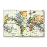 Man of the World: Coasters - World Map (Set of 6)
