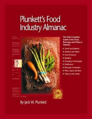 Plunkett's Food Industry Almanac 2010 by Jack W Plunkett