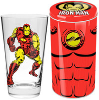 Marvel Iron Man Glass in Tin
