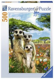 Ravensburger: Happy Meerkats - 500pc Puzzle
