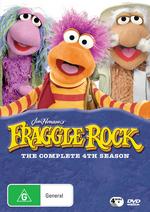 Fraggle Rock (Jim Henson's) - Complete Season 4 (4 Disc Set) on DVD