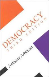 Democracy Third Edition by Anthony Arblaster image