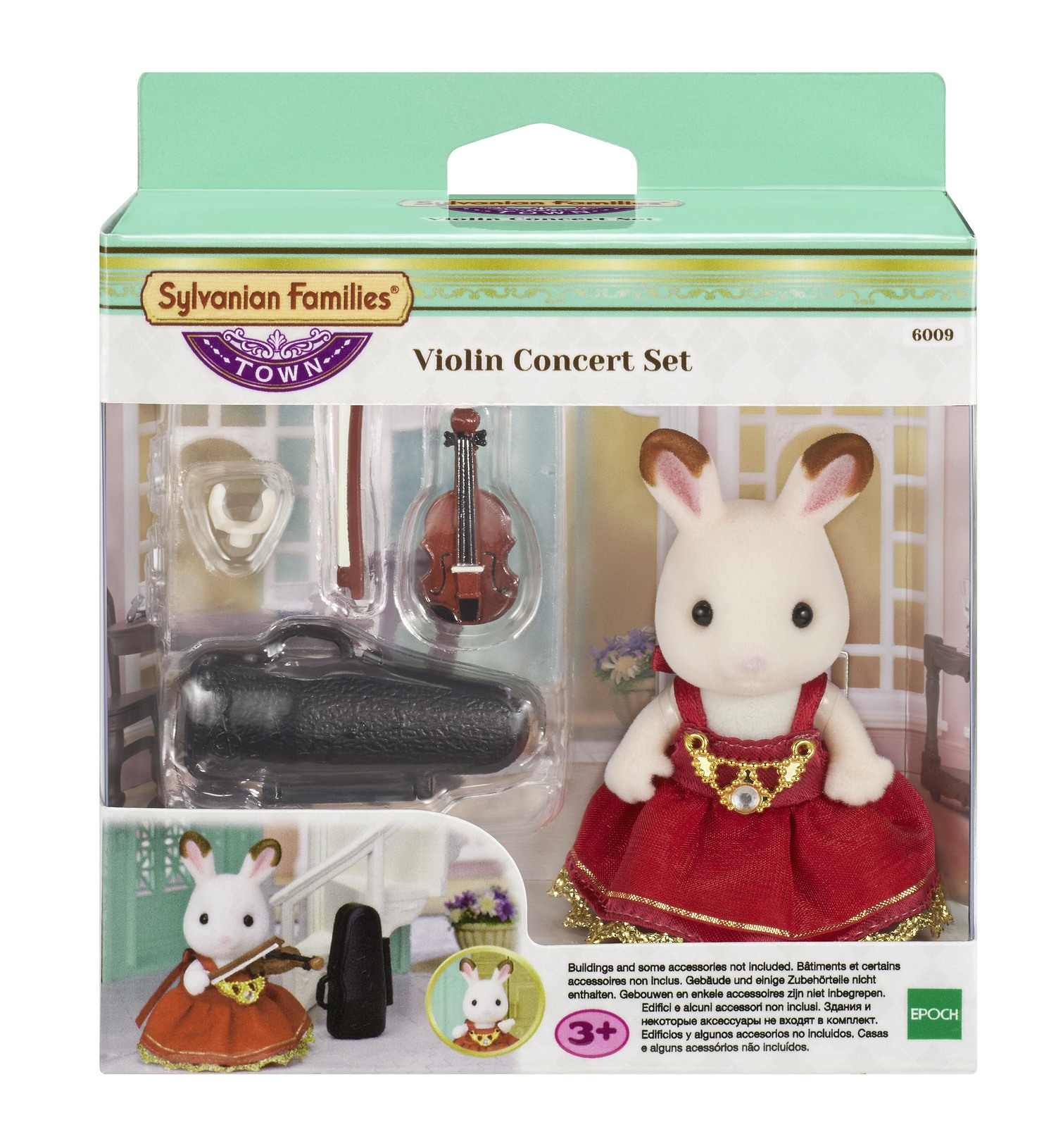 Sylvanian Families: Violin Concert Set image