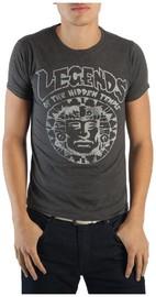 Legends of the Hidden Temple - Charcoal T-Shirt (2XL)