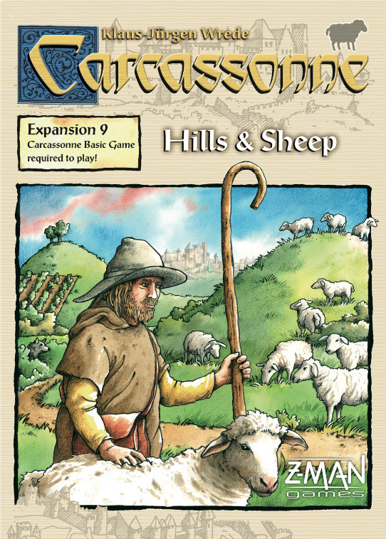 Carcassonne: Hills & Sheep - 2nd Edition