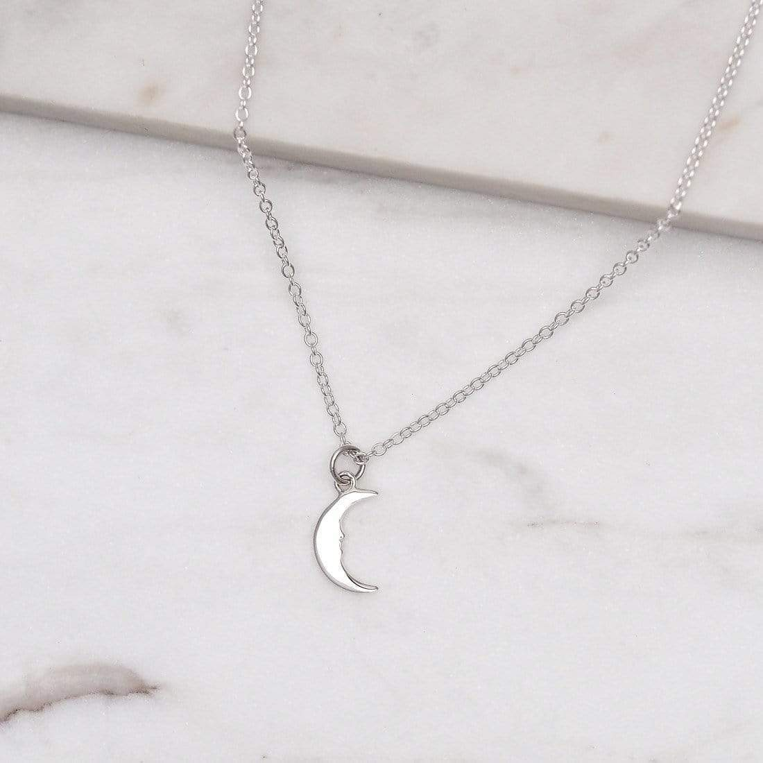 Midsummer Star: Lullaby Moon Necklace image