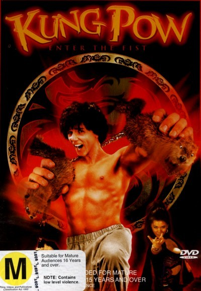 Kung Pow: Enter the Fist on DVD