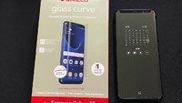InvisibleShield-GL Curve Elite-Samsung Galaxy-Note8-Case Friendly Screen image