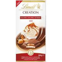 Lindt Creation Salted Caramel Sundae 100g