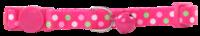 Pawise: Cat Collar - Polka Dots/Pink