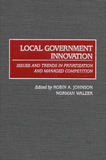 Local Government Innovation by Robin A Johnson