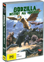 Godzilla: Destroy All Monsters on DVD