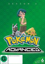 Pokemon Advanced - Season 6 on DVD image