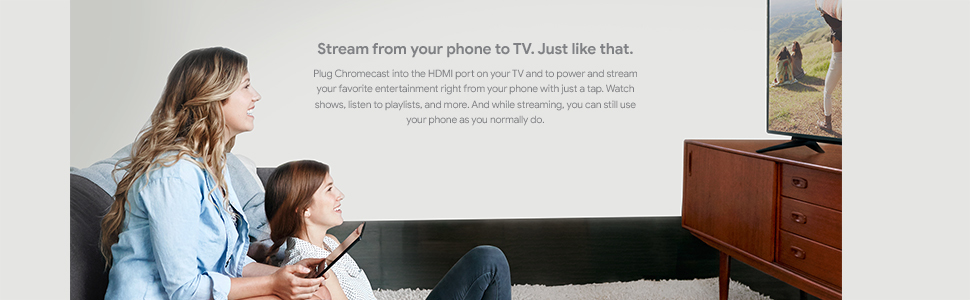 Google Chromecast 3 Charcoal Grey image