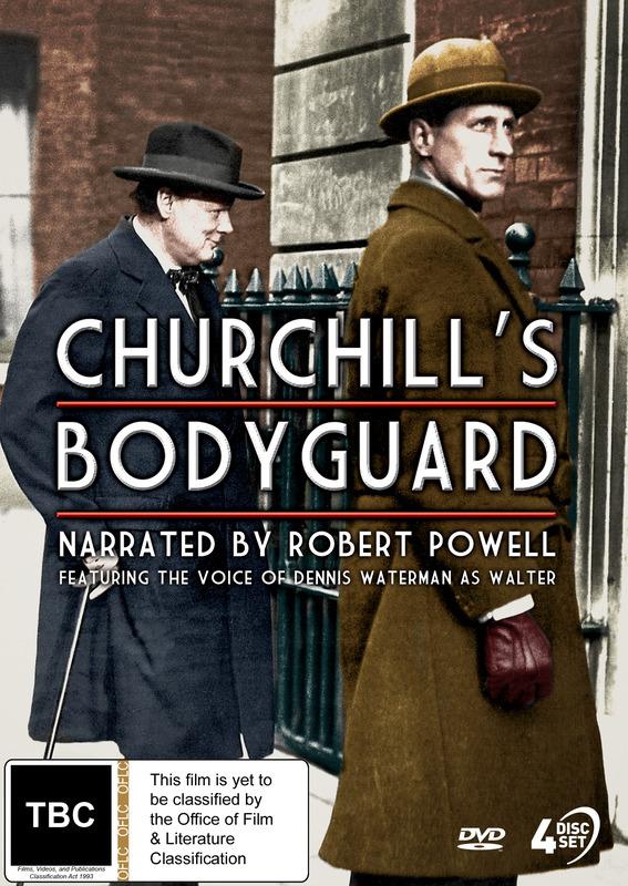 Churchill's Bodyguard on DVD