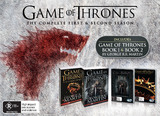 Game of Thrones - The Complete First & Second Seasons Box Set with Books (Mighty Ape Exclusive) DVD