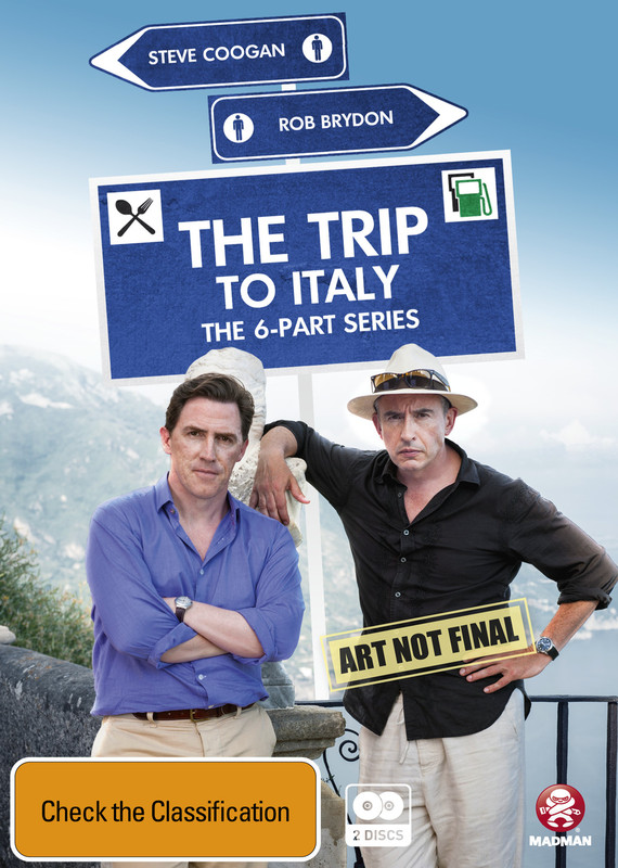 The Trip to Italy - The Complete Series on DVD