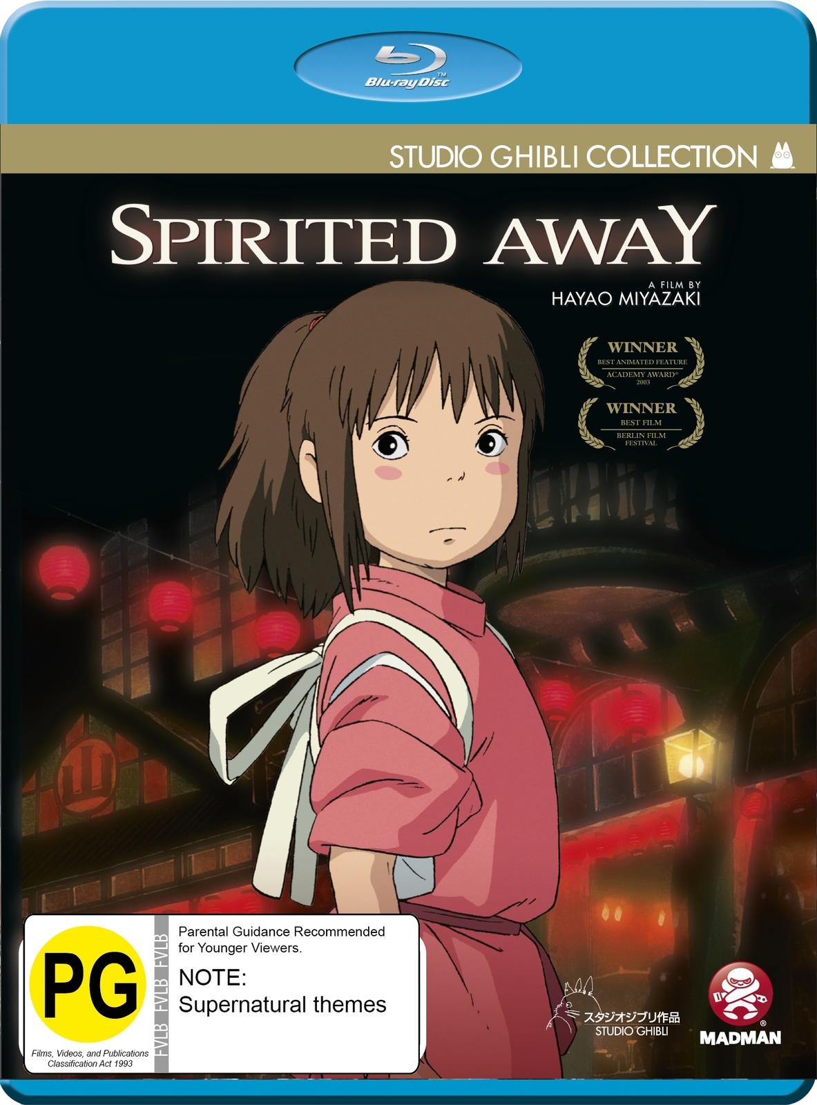 Spirited Away on Blu-ray image