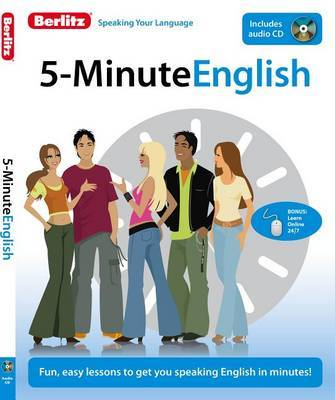 5-Minute English by Berlitz Publishing