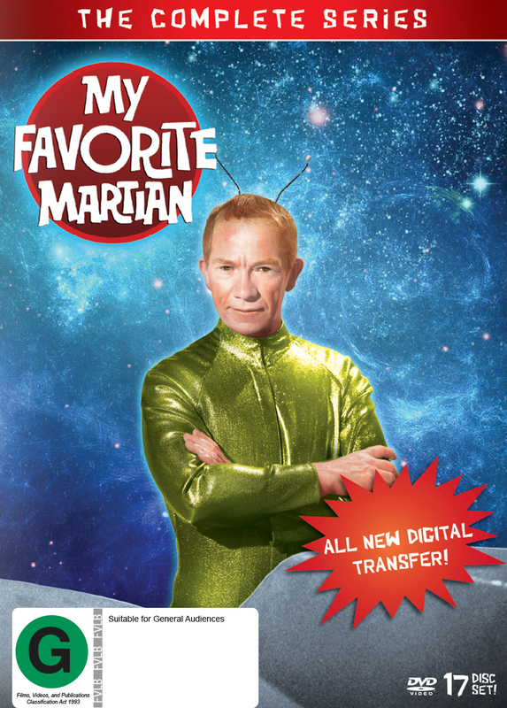 My Favorite Martian - Complete Collection on DVD