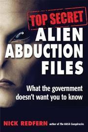 Top Secret Alien Abduction Files by Nick Redfern image