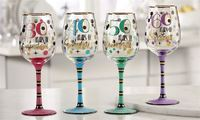 Milestone Wine Glass - 30 Years Of Awesome