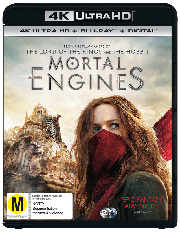 Mortal Engines on UHD Blu-ray
