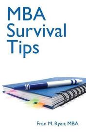 MBA Survival Tips by Fran Ryan image