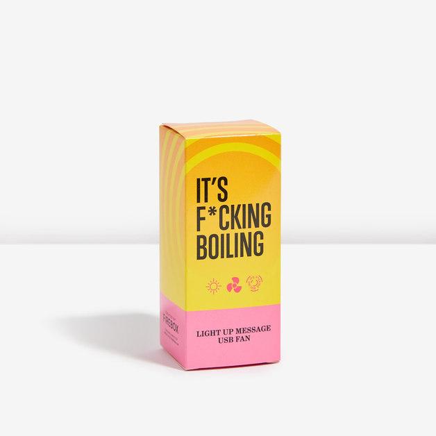 It's F*cking Boiling USB Fan