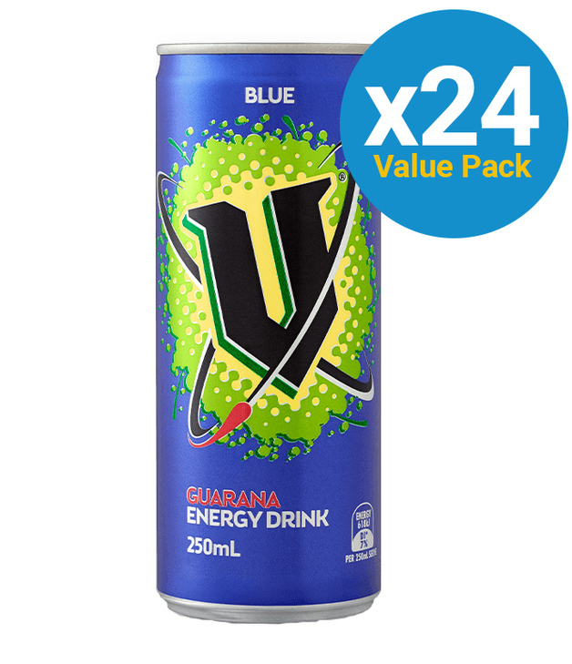 V Blue 250ml (24 Pack)