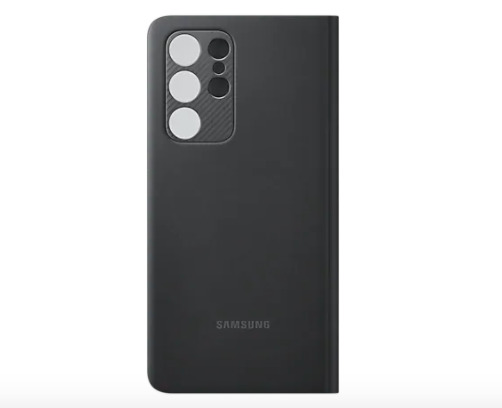 Samsung S21 Ultra Smart Clear View Cover w S Pen - Black image