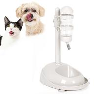 Standing Water Dispenser & Pet Bowl - Small (White)