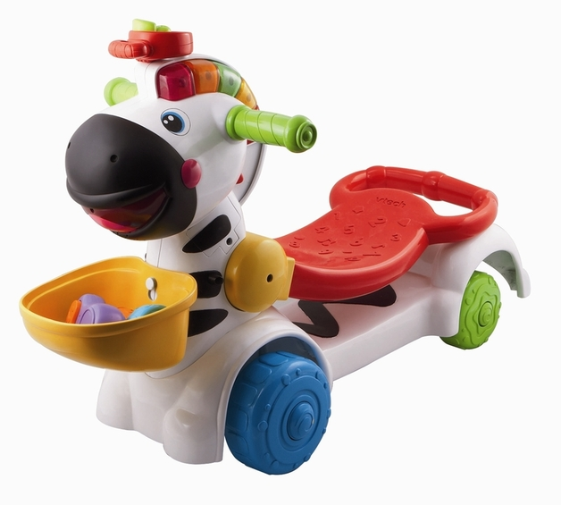Vtech - Animal Fun 3 in 1 Zebra Scooter
