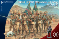 Afghanistan and Sudan British Infantry (1877-1885)