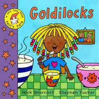 A Lift-the-flap Fairy Tale: Goldilocks by Stephen Tucker image