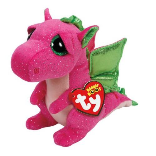 Ty Beanie Boo: Darla Dragon - Small Plush image