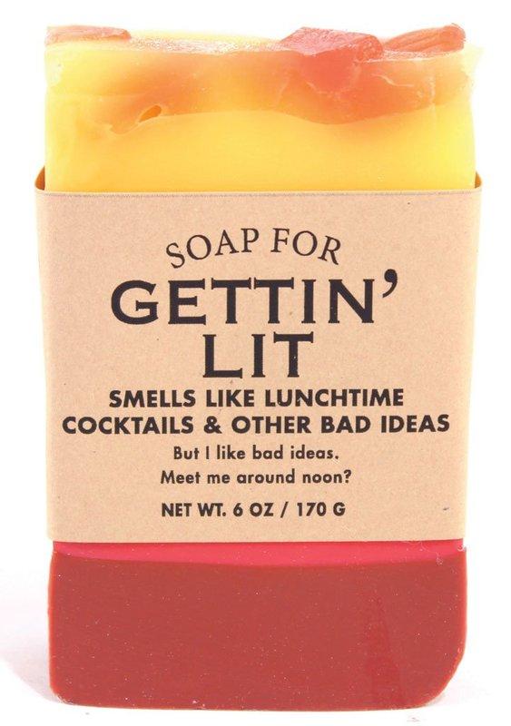 Whiskey River Co: Soap - Gettin' Lit