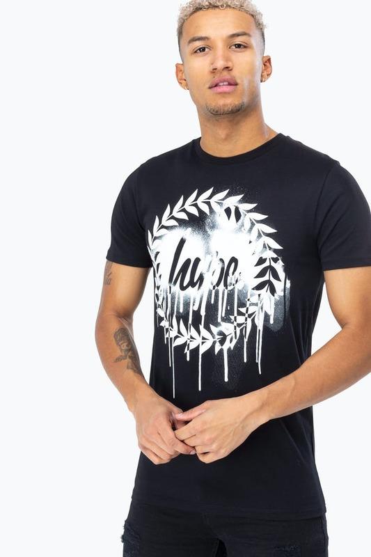 Just Hype: Men's Drip Crest T-Shirt - Medium