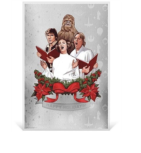 NZ Mint: Star Wars - Silver Coin Note - Seasons Greetings 2019 (5g Silver)