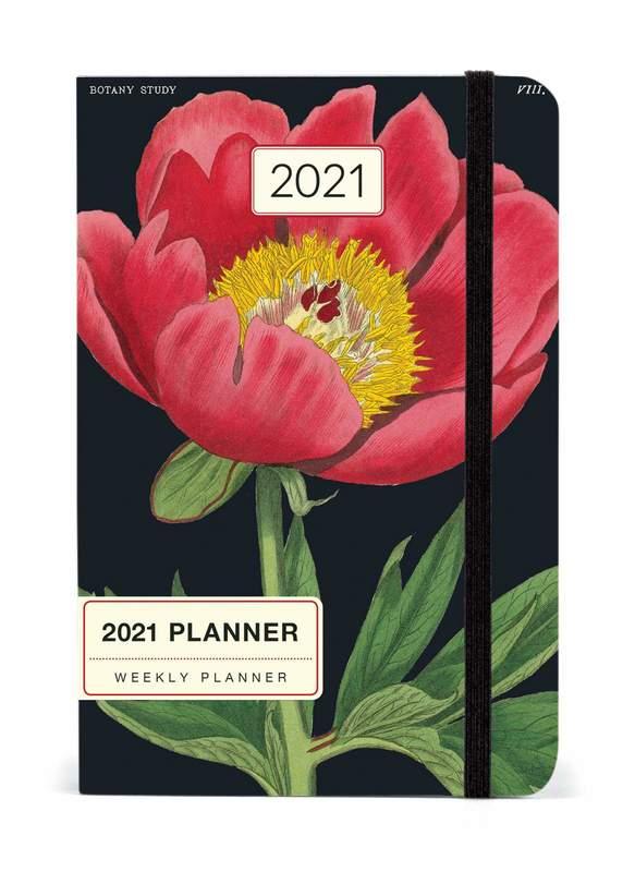 Cavillini & Co.: 2021 Weekly Planner - Botanica